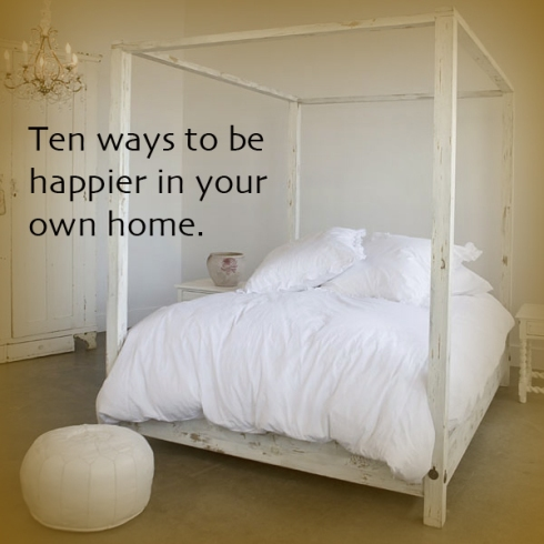 Rock Ribbons_Ten ways to be happier in your own home.