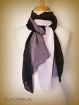 Ombre lightweight summer scarf