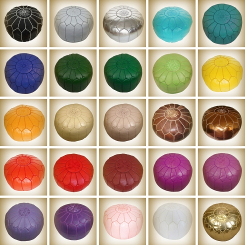 Pouf Selection for Wholesale